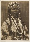 """Wishham bride"" par Edward S. Curtis, photogravure, reproduction : Christian Vignaud"