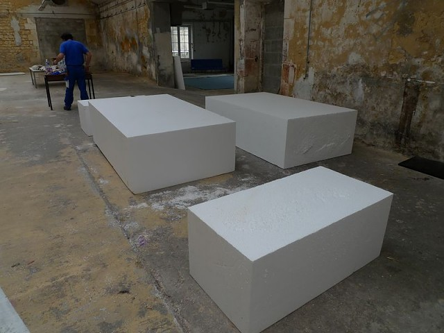 bloc polystyrene a sculpter bande transporteuse caoutchouc. Black Bedroom Furniture Sets. Home Design Ideas